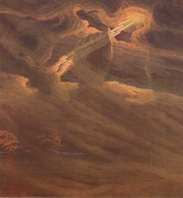 M.K.Ciurlionis Painting